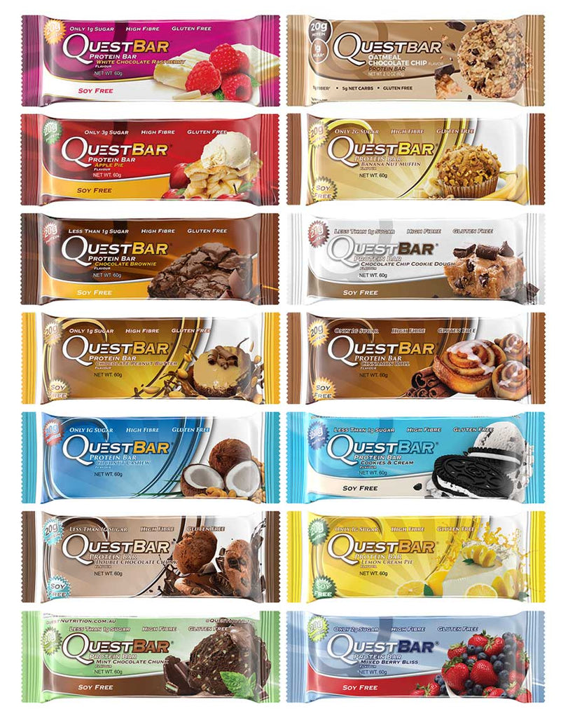 Quest Bars By Quest Nutrition
