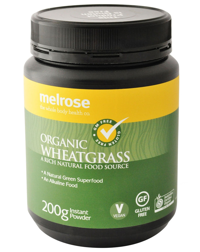 Organic Wheatgrass by Melrose