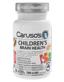 Children's Brain Health by Caruso's Natural Health