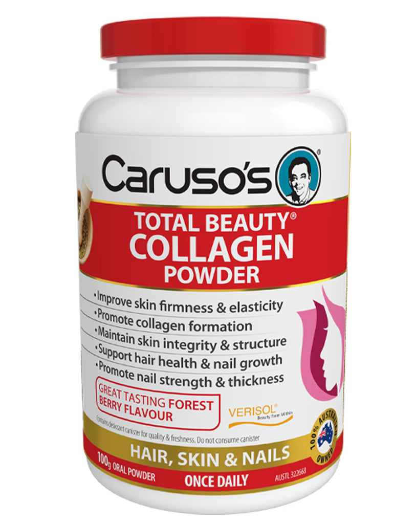 Total Beauty Collagen Powder by Caruso's Natural Health