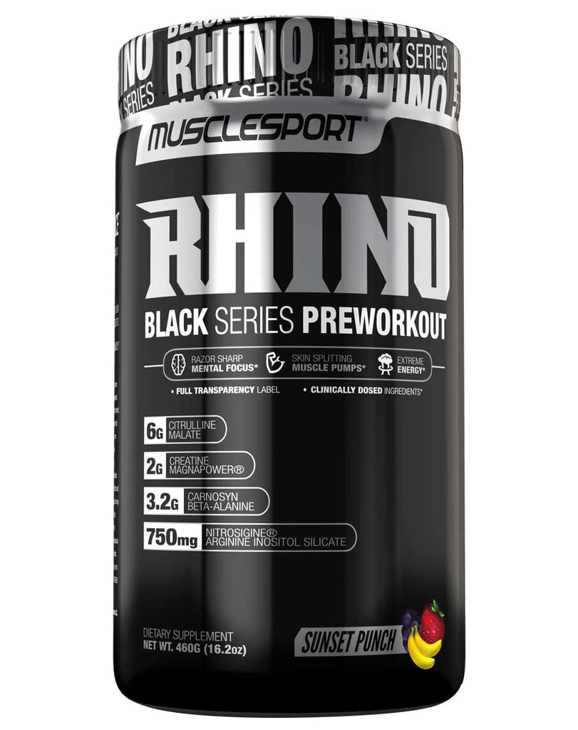 Rhino Black Series by MuscleSport