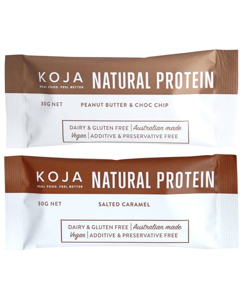Natural Protein Bars by Koja