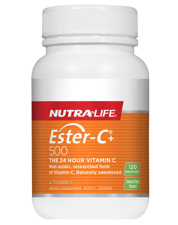Ester C Plus 500 by NutraLife