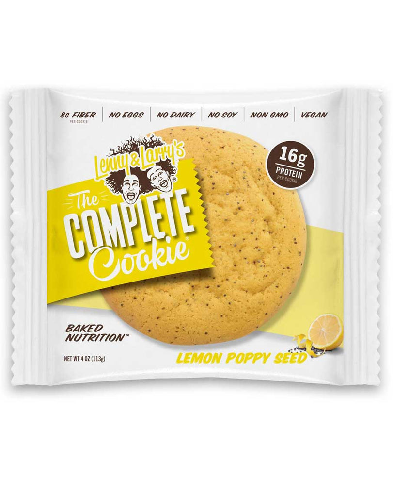 Lemon Poppy Complete Cookie by Lenny & Larry's