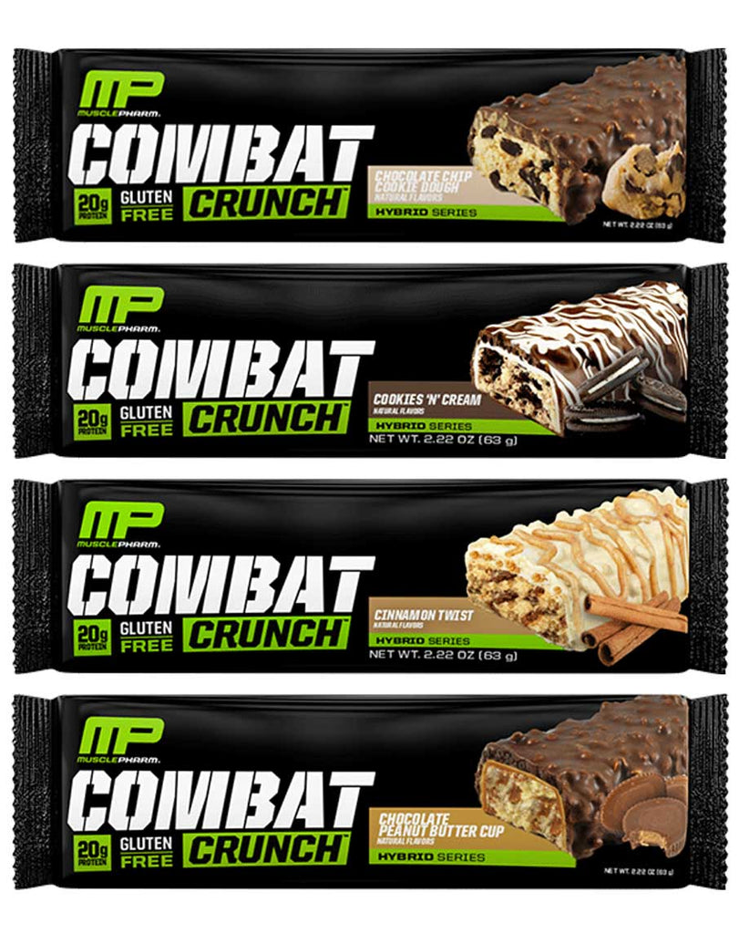 Combat Crunch Bars by Muscle Pharm