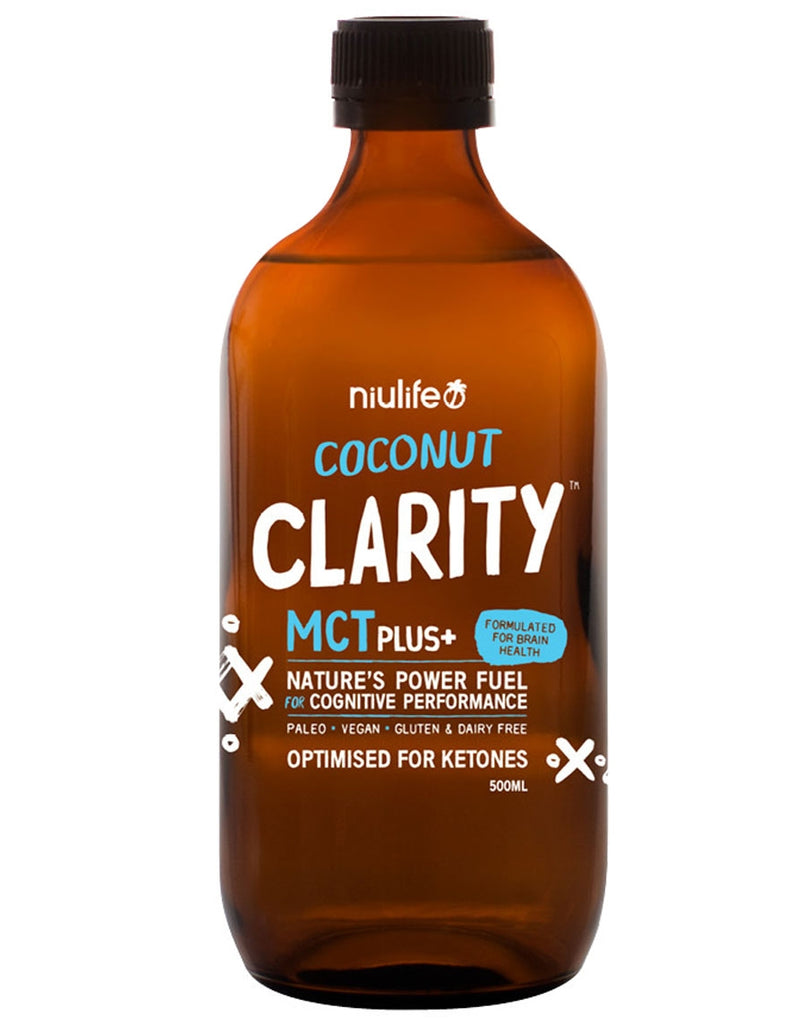 Coconut Clarity MCT Plus+ by NiuLife