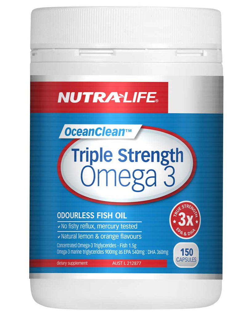 Triple Strength Omega 3 By NutraLife