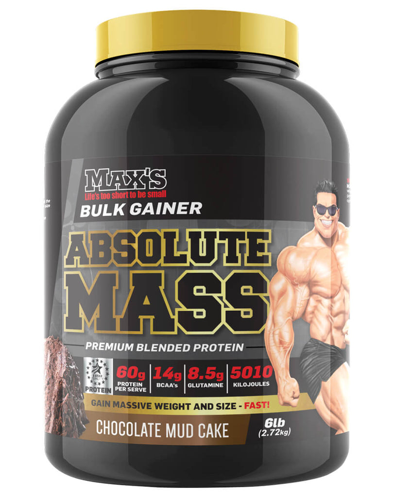Absolute Mass by Max's Supplements