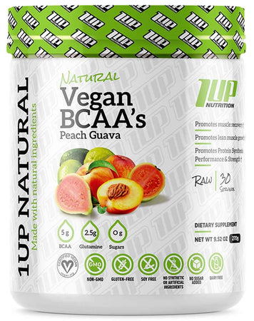 Organic Vegan BCAA's + Glutamine by 1Up Nutrition
