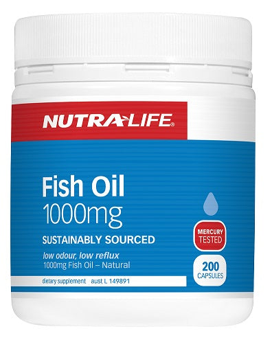 Fish Oil Omega 3 by Nutra Life