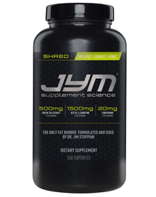 Shred by Jym Supplement Science