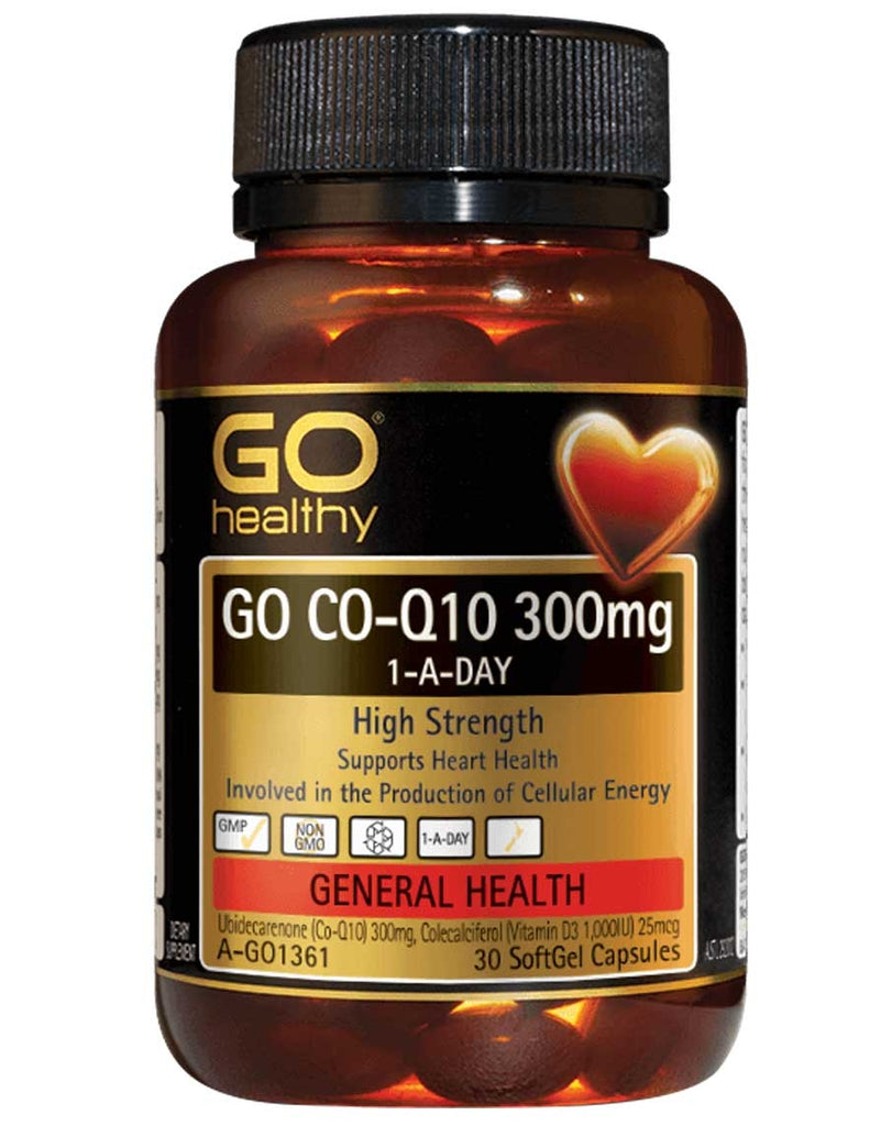 Go CO-Q10 300mg by Go Healthy