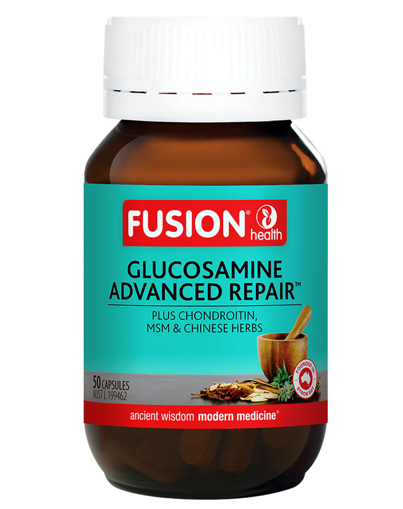 Glucosamine Advanced Repair plus Chondroitin, MSM, & Chinese Herbs by Fusion Health