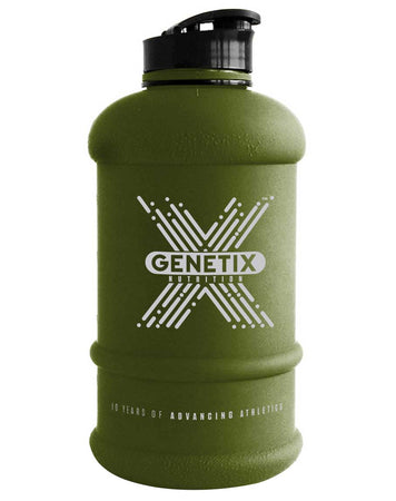 1.3 Litre Bottle (Khaki) by Genetix Nutrition