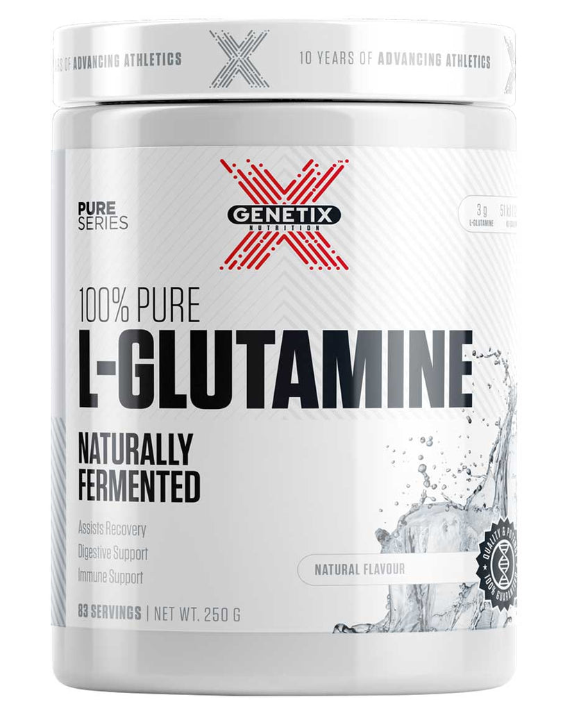 100% Pure Glutamine by Genetix Nutrition Essentials