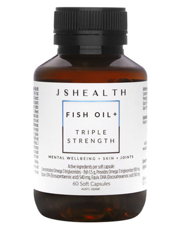 Fish Oil + Triple Strength by JSHealth Vitamins