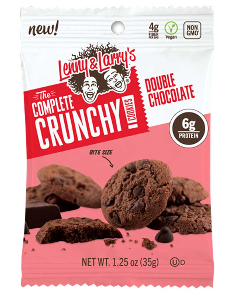 Double Chocolate Complete Crunchy Cookies by Lenny & Larry's