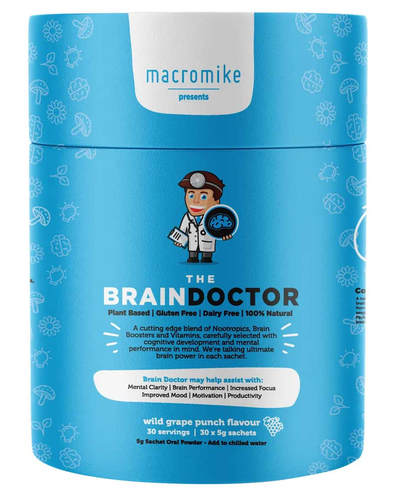 The Brain Doctor by Macro Mike