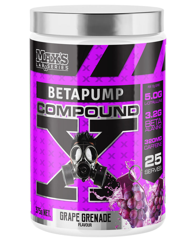 Betapump Compound X by Max's Lab Series