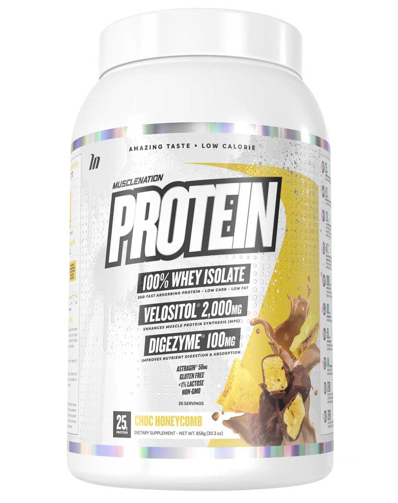 100% Whey Isolate Protein by Muscle Nation