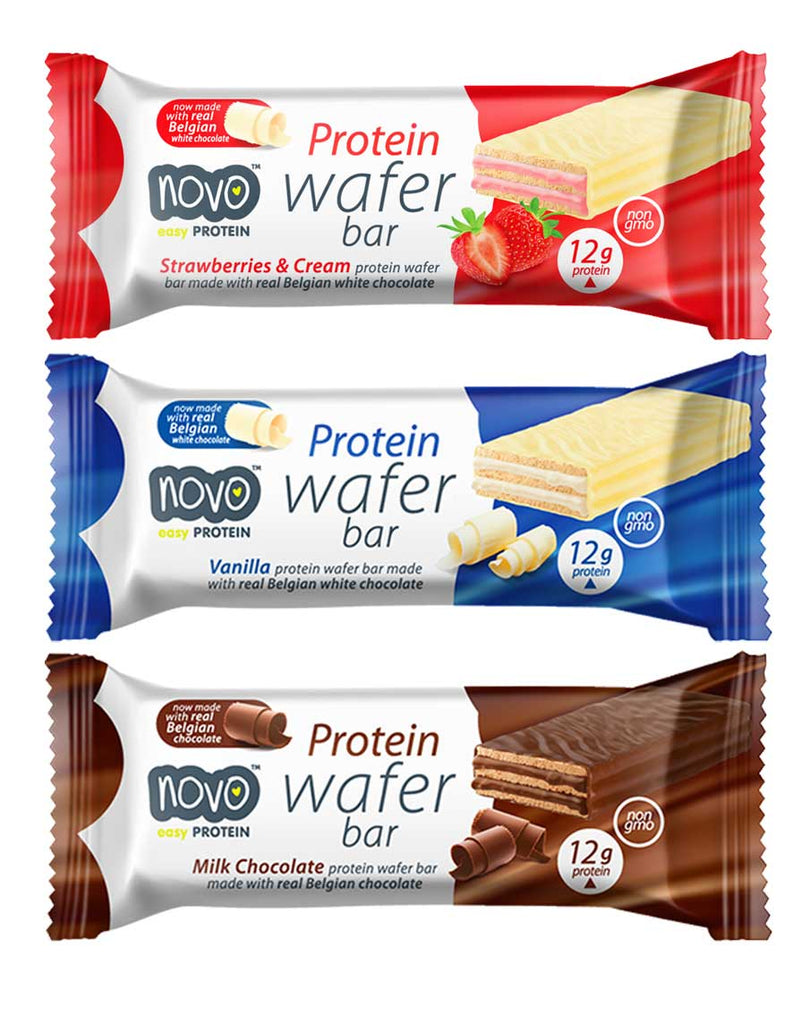 Protein Wafer Bar by Novo