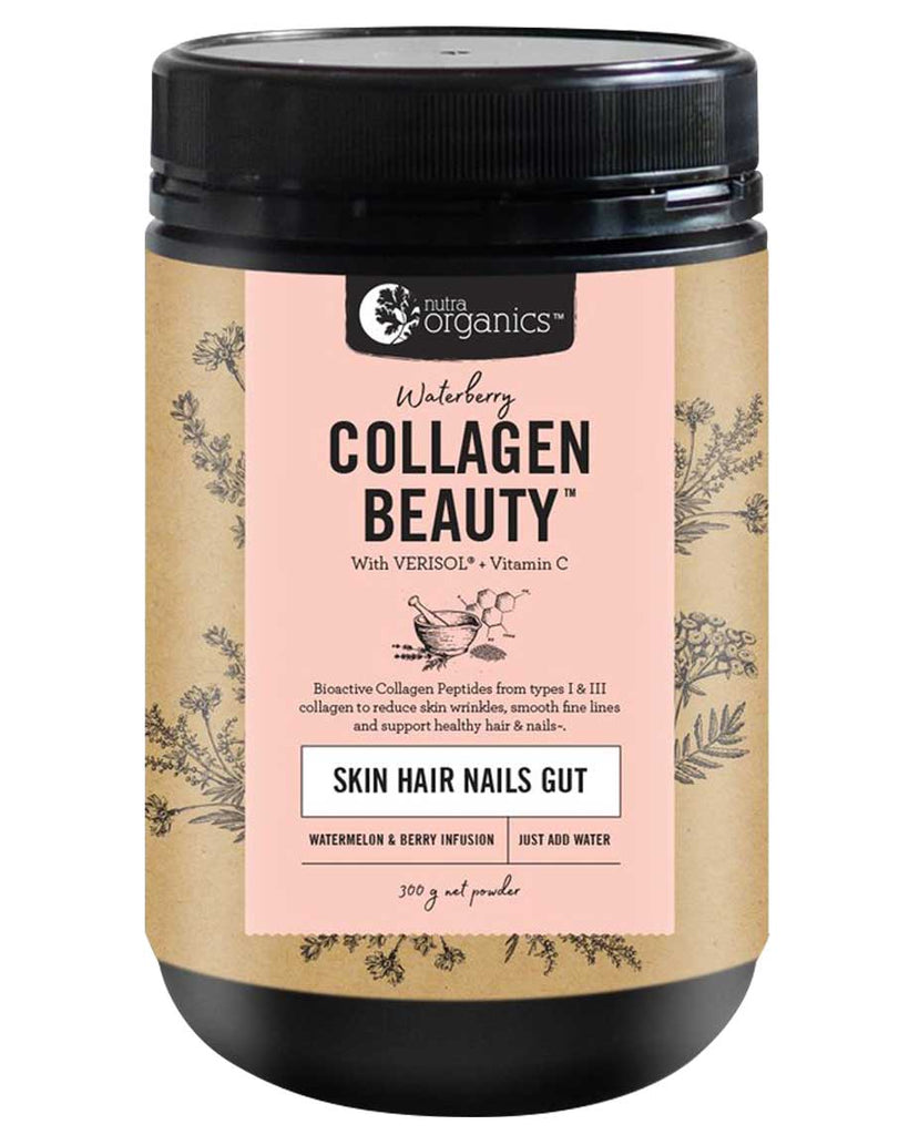 Collagen Beauty Skin Hair Nails Gut by Nutra Organics