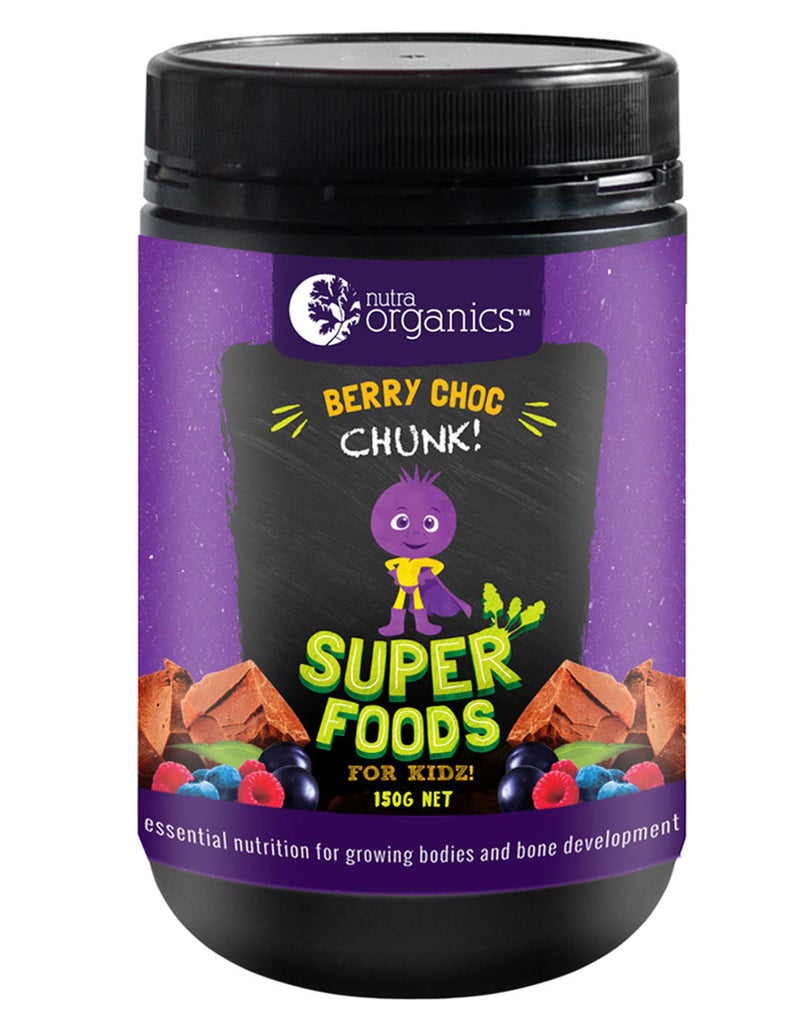 Super Foods for Kidz (Berry Choc Chunk) by Nutra Organics