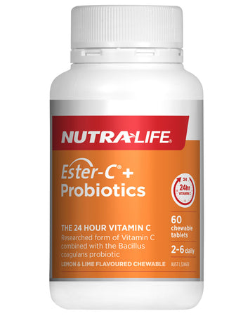 Ester C + Probiotics by Nutralife