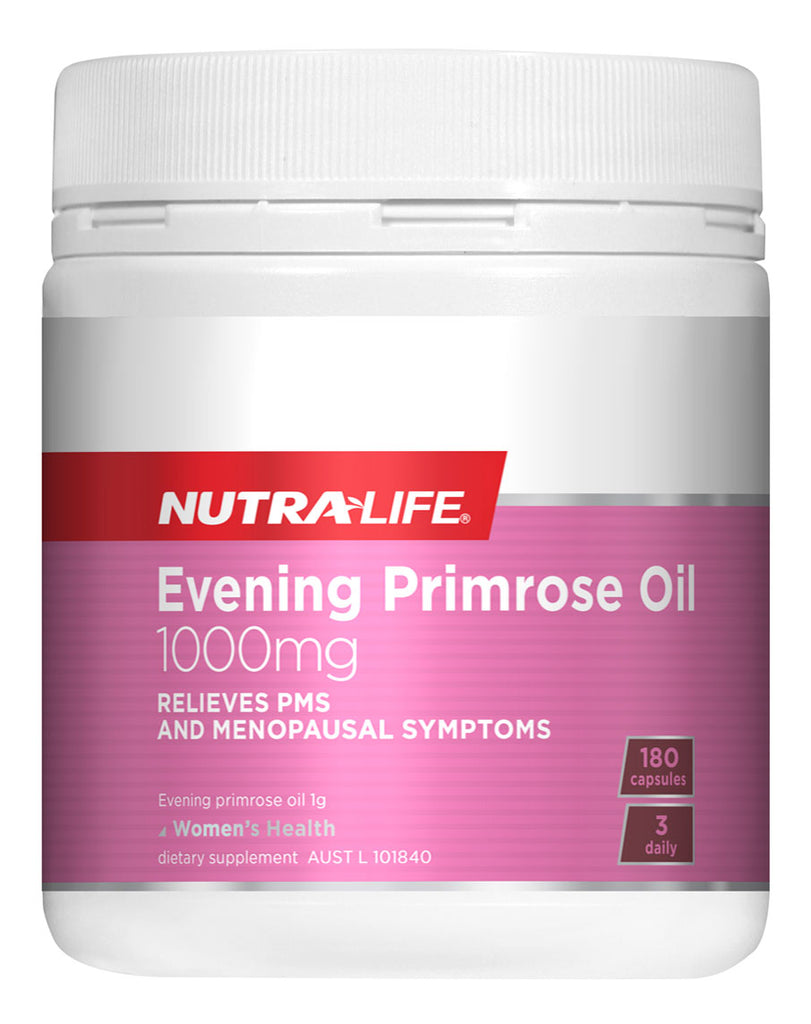 Evening Primrose Oil 1000mg by Nutralife