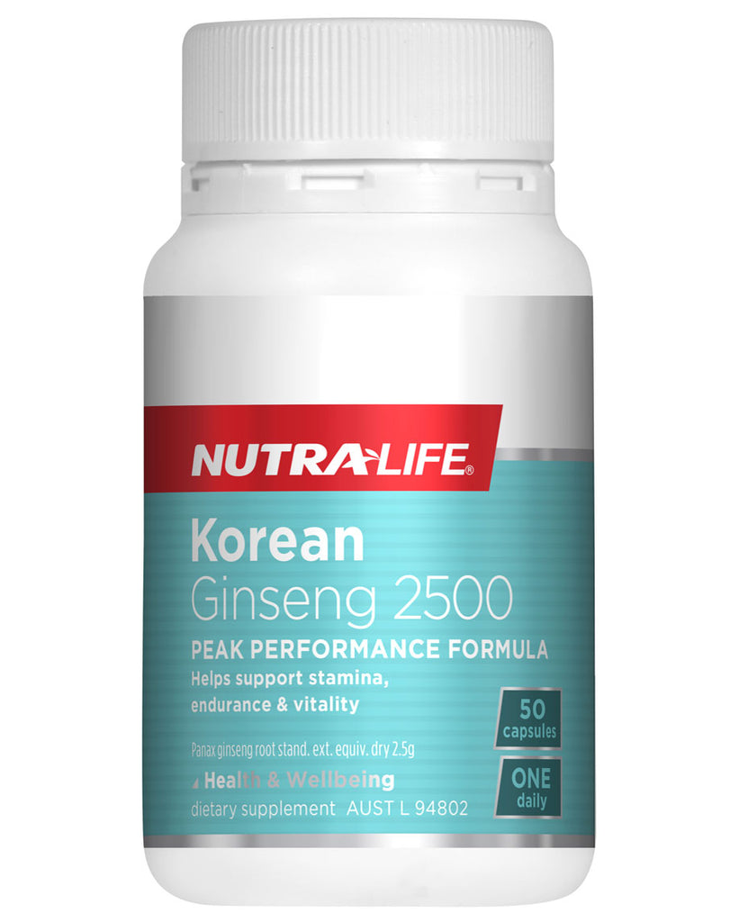Korean Ginseng 2500 by NutraLife