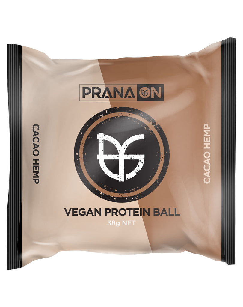 Vegan Protein Balls by Prana On