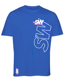 T-Shirt (Blue) by Supplement Warehouse