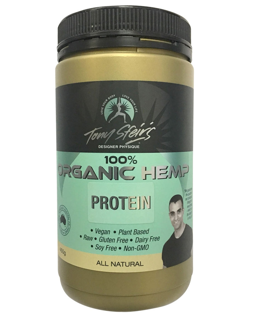 100% Organic Hemp Protein by Designer Physique