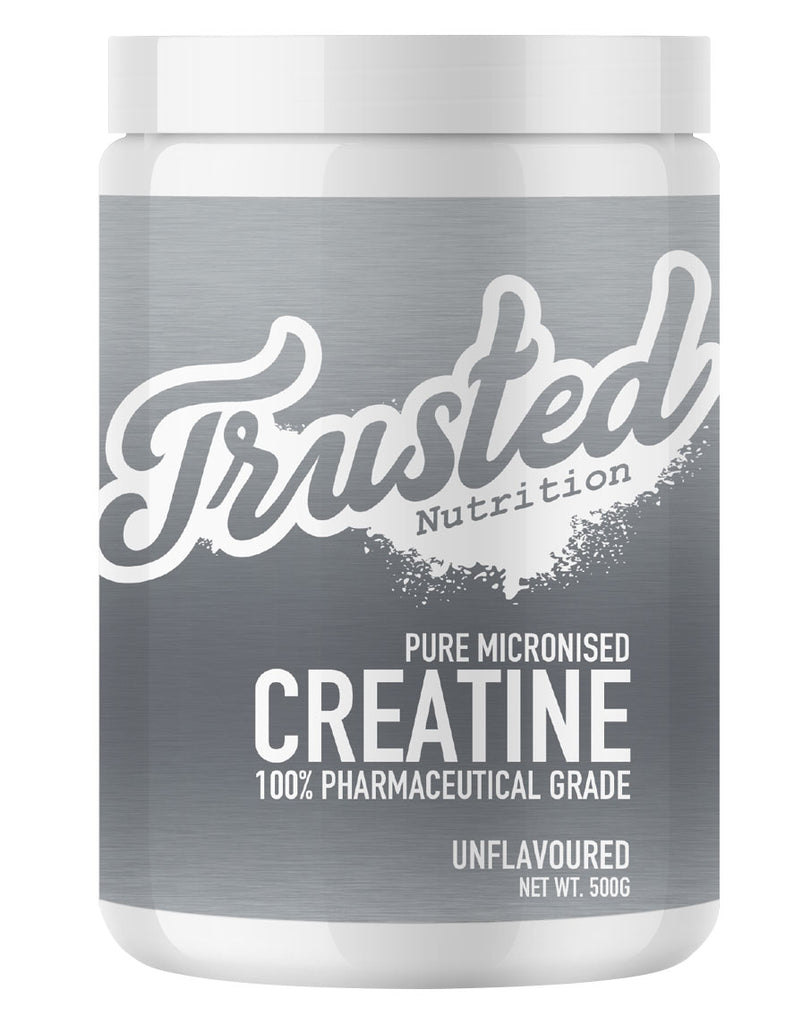 Pure Micronised Creatine by Trusted Nutrition