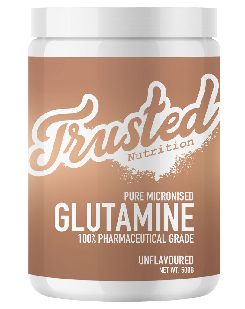 Pure Micronised Glutamine by Trusted Nutrition