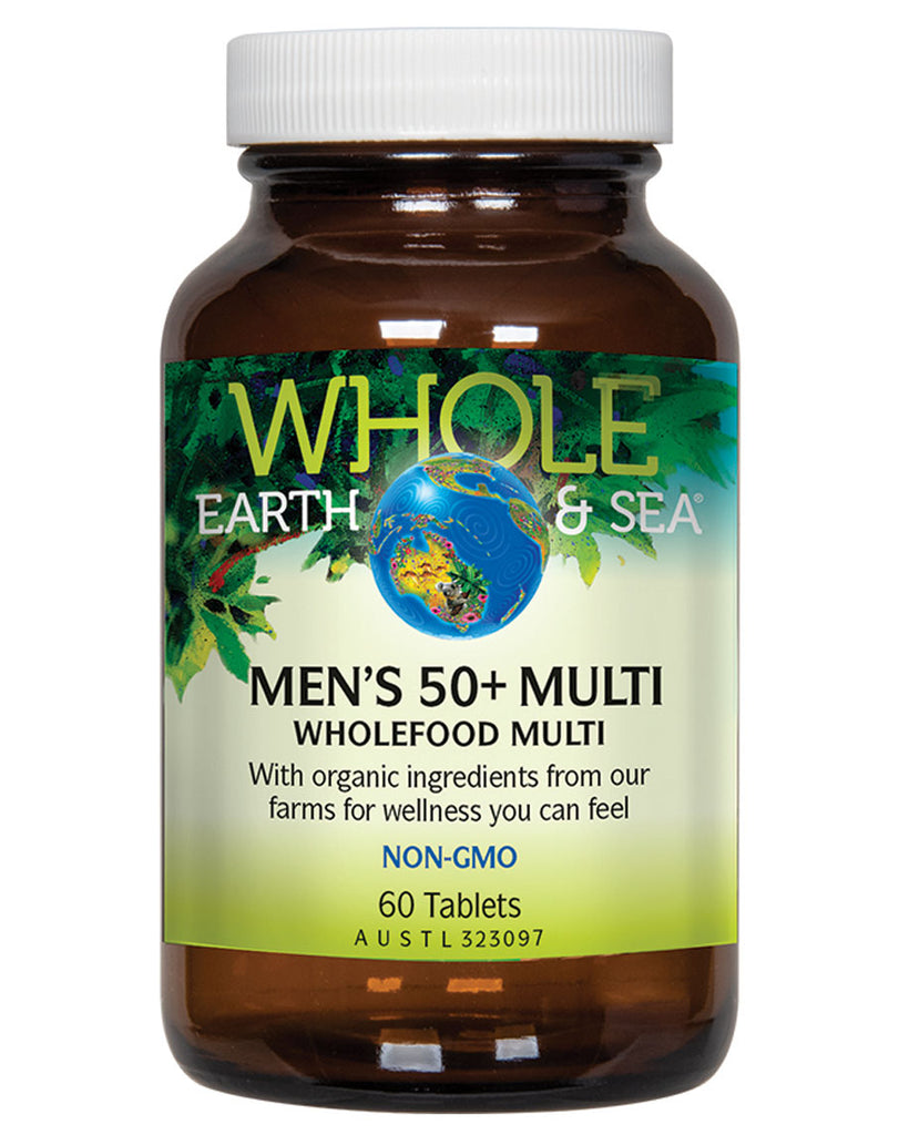 Men's 50+ Multi by Whole Earth & Sea