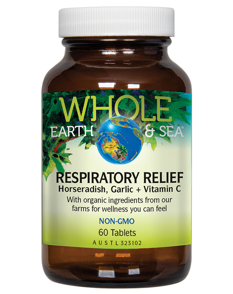 Respiratory Relief by Whole Earth & Sea