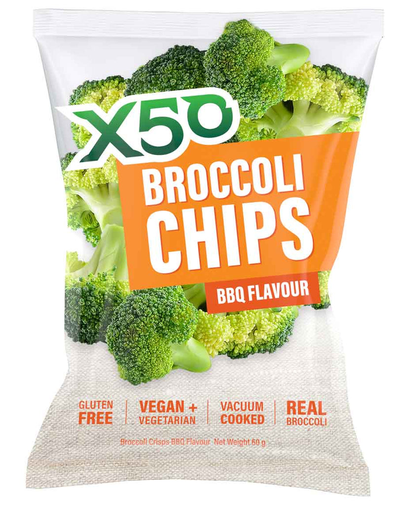 Broccoli Chips by Green Tea X50