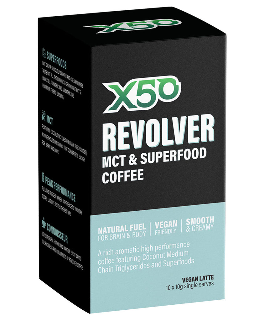 Revolver MCT & Superfood Coffee by Green Tea X50