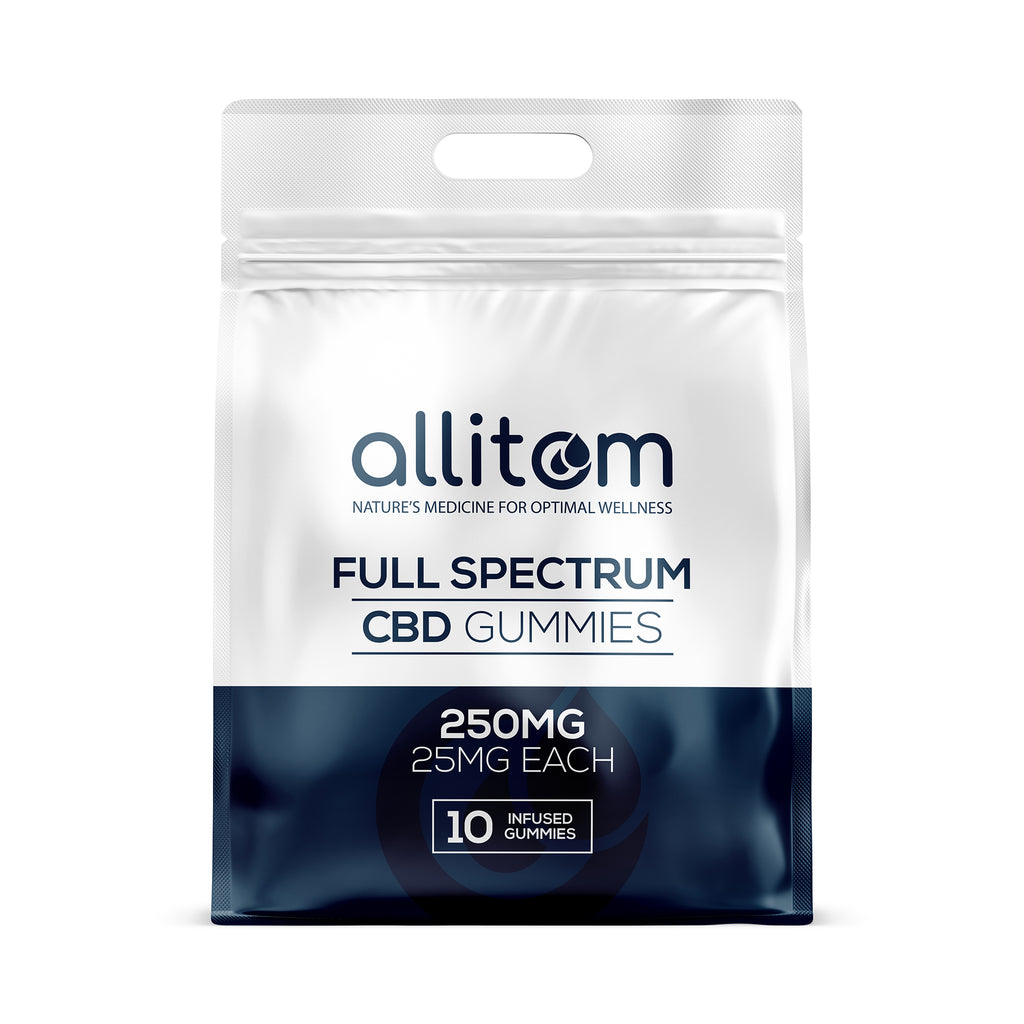 allitom Full Spectrum Gummies 250mg