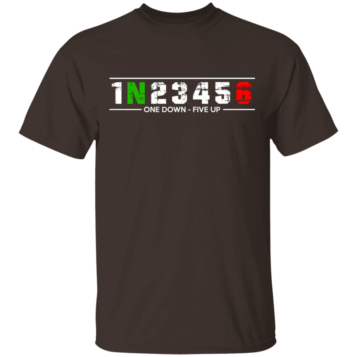 1 N 2 3 4 5 6 One Down Five Up T-Shirts, Hoodies, Tank 1049-9956-81647151-48152 - Tee Ript