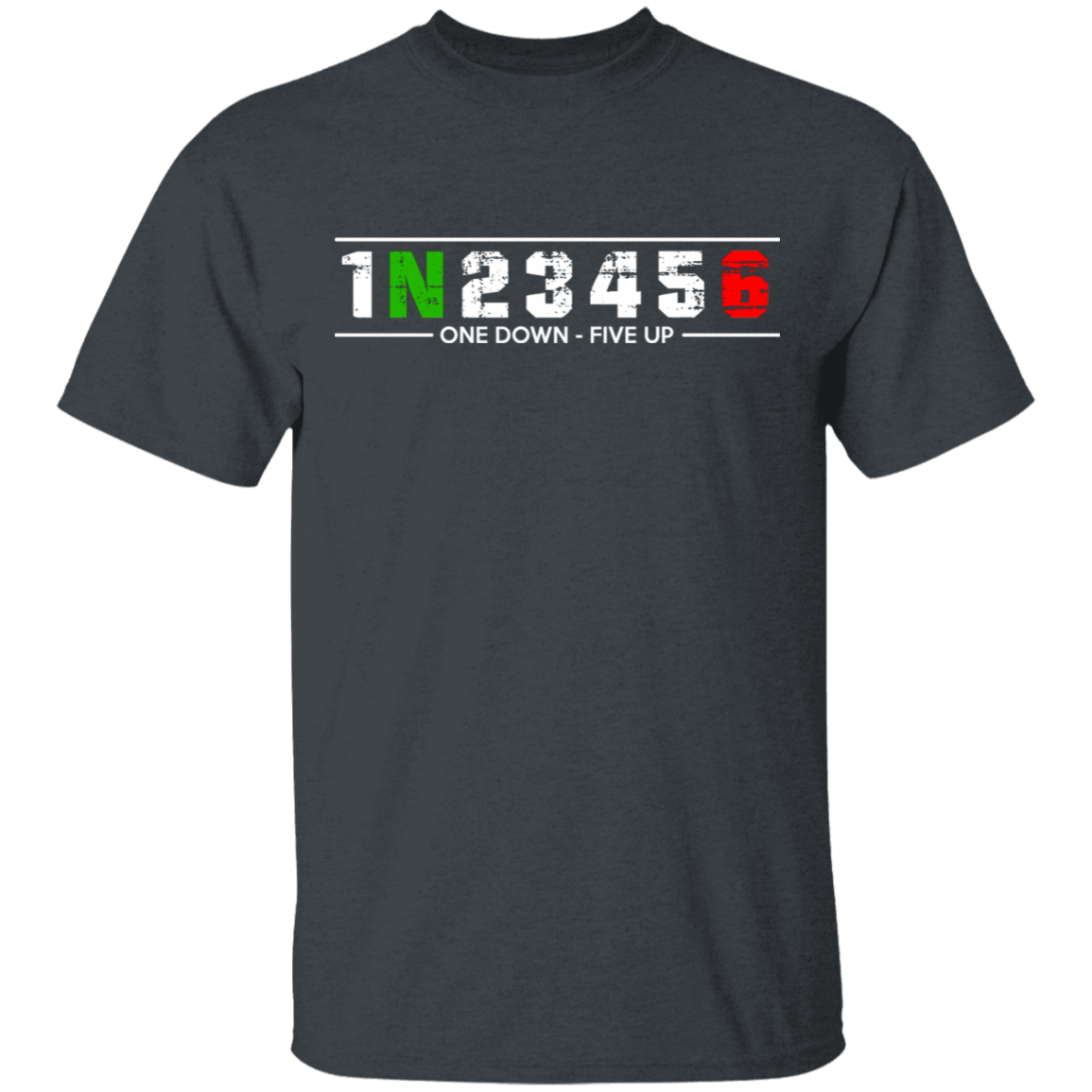 1 N 2 3 4 5 6 One Down Five Up T-Shirts, Hoodies, Tank 1049-9957-81647151-48192 - Tee Ript
