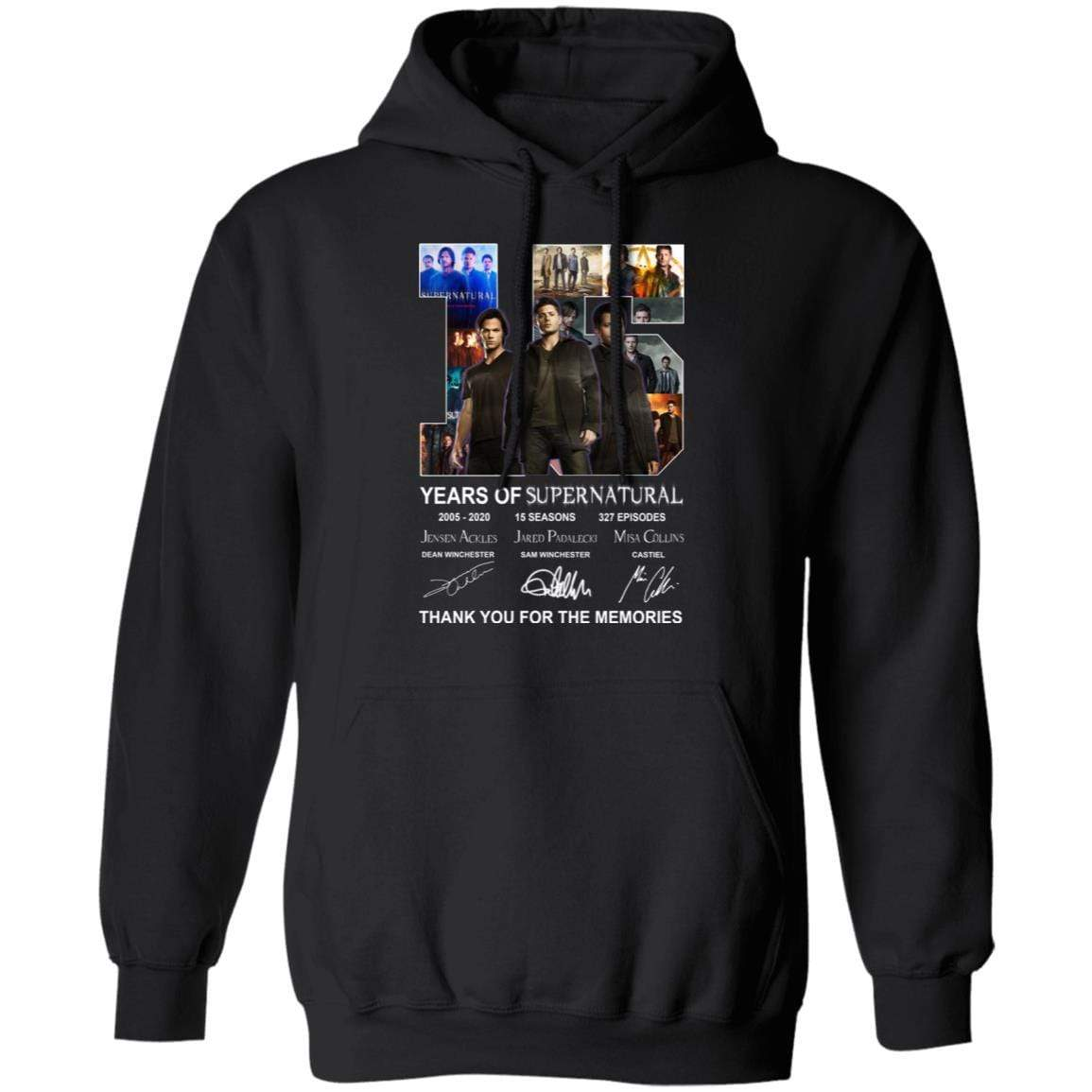 15 Years Of Supernatural Thank You For My Memories T-Shirts, Hoodies 541-4740-86894547-23087 - Tee Ript