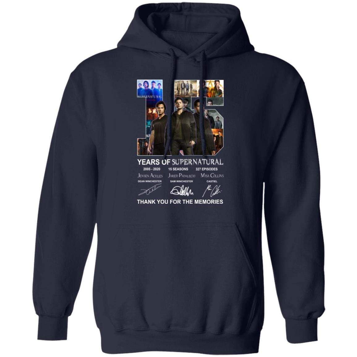 15 Years Of Supernatural Thank You For My Memories T-Shirts, Hoodies 541-4742-86894547-23135 - Tee Ript