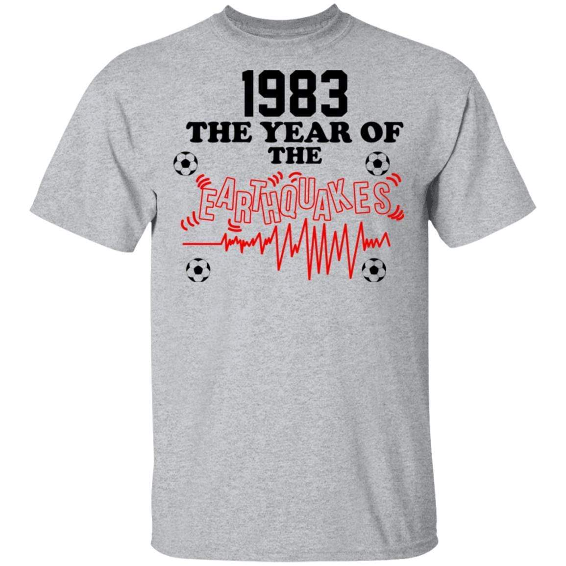 1983 The Year Of The Earthquakes San Jose Earthquakes T-Shirts, Hoodies 1049-9972-86355409-48200 - Tee Ript