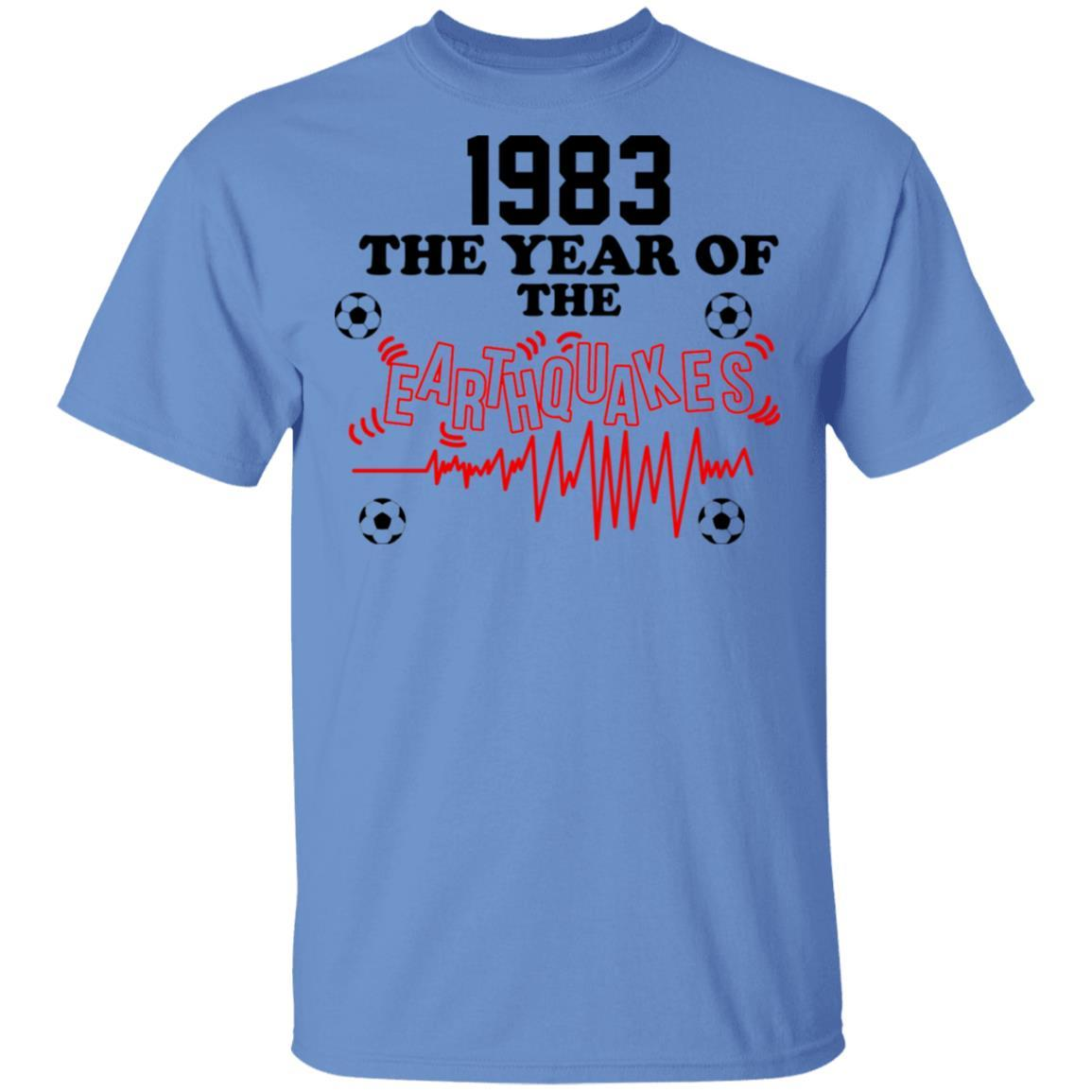 1983 The Year Of The Earthquakes San Jose Earthquakes T-Shirts, Hoodies 1049-9955-86355409-48160 - Tee Ript
