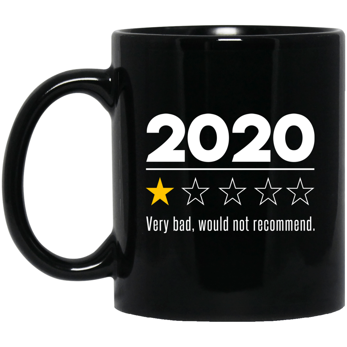 2020 This Year Very Bad Would Not Recommend Mug 1065-10181-88282976-49307 - Tee Ript