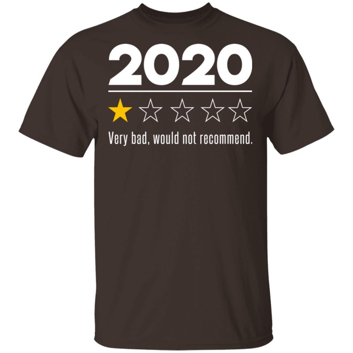2020 This Year Very Bad Would Not Recommend T-Shirts, Hoodies 1049-9956-88282841-48152 - Tee Ript