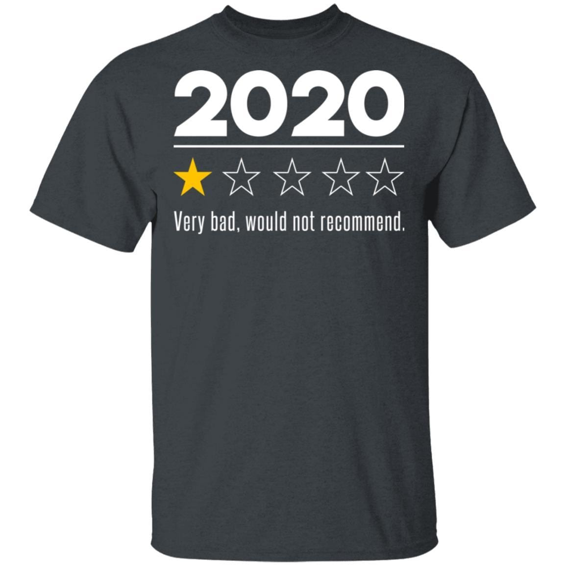 2020 This Year Very Bad Would Not Recommend T-Shirts, Hoodies 1049-9957-88282841-48192 - Tee Ript