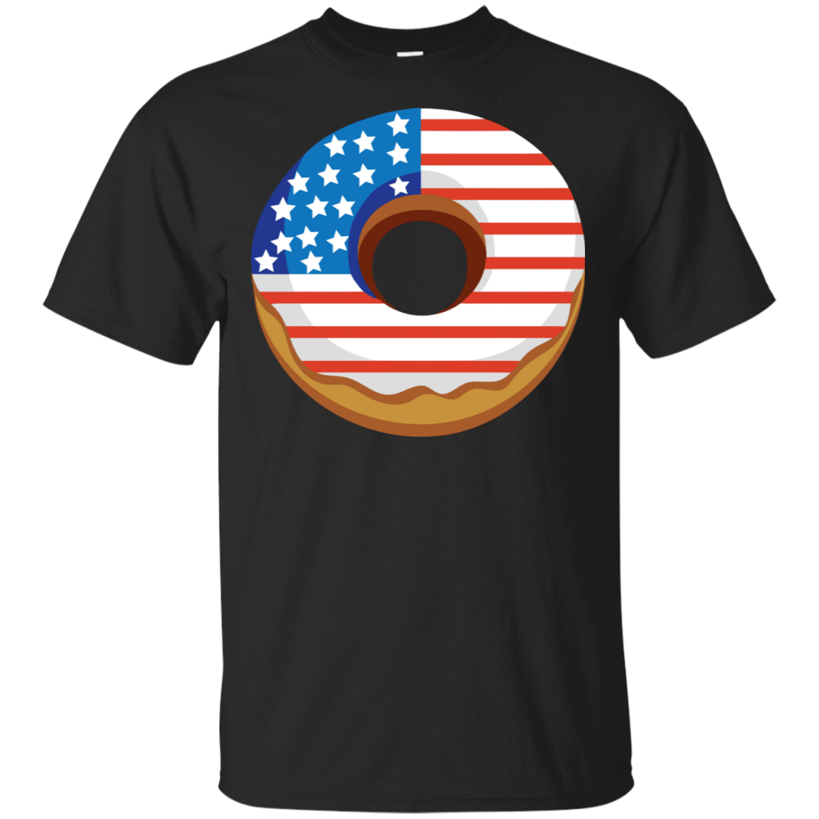 4Th Of July Donut America Flag T-Shirts, Hoodies, Tank 22-113-78917297-252 - Tee Ript
